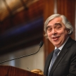 Secretary of Energy Ernest Moniz speaks at the National Press Club
