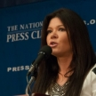 Ruslana speaks at the National Press Club - Mar. 5, 2014