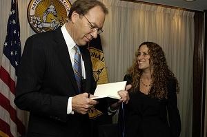 Sprint CEO Dan Hesse and NPC Vice President Donna Leinwand