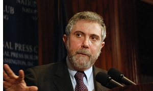 Paul Krugman speaks at a Dec. 18 National Press Club Luncheon.