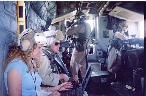 President Donna Leinwand, right, and Rep. Debbie Wasserman Schultz