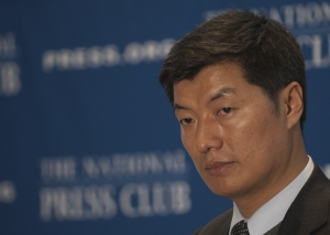Lobsang Sangay, new leader of the Tibetan government-in-exile.