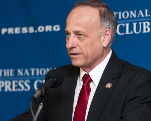 Congressman Steve King, R-Iowa, explains a House Resolution in favor of self-determination for people in Pakistan's Balochistan province.