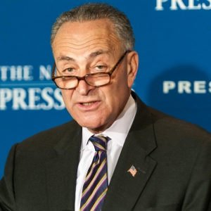 Senior New York Senator Charles Schumer discusses the tax reform plans of fellow Democrats at a National Press Club Newsmaker, October 9, 2012.
