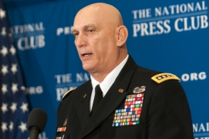 U.S. Army Chief of Staff General Ray Odierno at National Press Club Luncheon, Jan. 7, 2014.