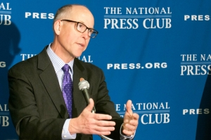 U.S. Representative Greg Walden discusses his party's plans for the 2014 congressional elections at a NPC Newsmaker, March 11, 2014.