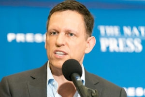 PayPal cofounder Peter Thiel speaks at Oct. 31 Speakers newsmaker event at Club.