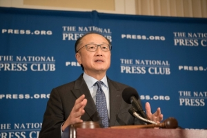 World Bank President Jim Yong Kim speaks at the Club.