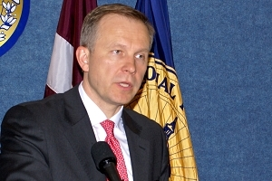 Ilmars Rimsevics, governor of the Bank of Latvia
