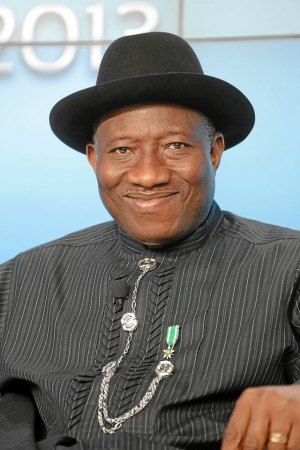 Nigerian President Goodluck Jonathan will speak at a National Press Club luncheon on Thursday, July 31.