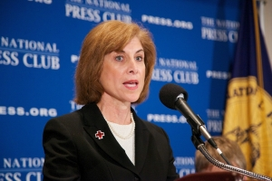 Gail McGovern, president and CEO, American Red Cross