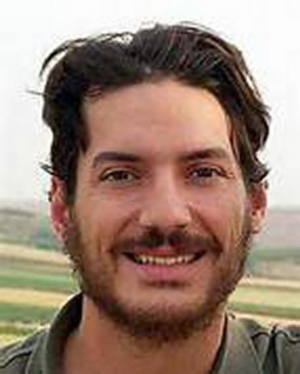 American freelance reporter Austin Tice, detained in Syria since 2012, will receive the John Aubuchon Press Freedom Award - one of the club's most prestigious honors.