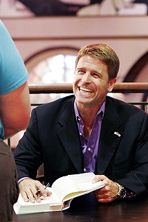 Thriller author Brad Thor