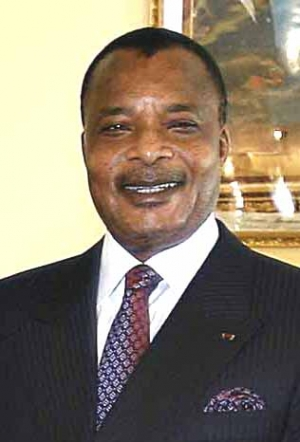 Denis Sassou Nguesso, President of the Republic of Congo.