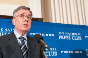 Gil Kerlikowske, director of the Office of National Drug Control discussed drug-policy reform and the Obama administration's position on national drug use at a National Press Club Luncheon on April 17, 2013.