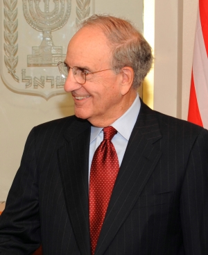 Former Senate Majority Leader George Mitchell.