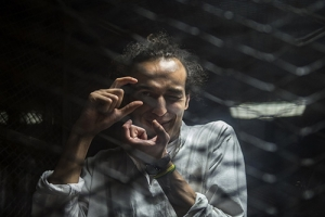 Mahmoud Abou Zeid, an Egyptian photojournalist who works under the name Shawkan, was arrested nearly five years ago while taking pictures of anti-government protests in Cairo.