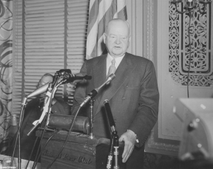President Hoover at the National Press Club