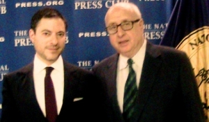 Attorney Andrew Grossman with NPC member Tony Gallo