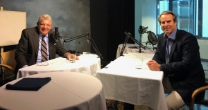 Lincoln Smith interviews Ambassador Stuart Holliday, chief executive officer of the Meridian International Center, for the National Press Club's podcast Update-1