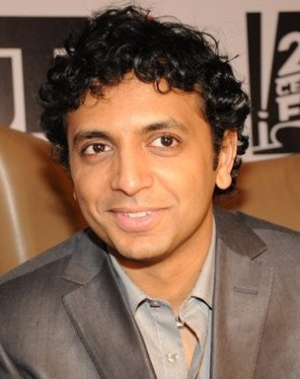 Writer-director M.Night Shyamalan.
