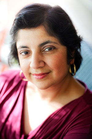 Veteran broadcast journalist and breast cancer survivor Madhulika Sikka will discuss her book on Oct. 6.