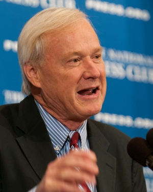 MSNBC's Chris Matthews hosts the 25th annual Gerald R. Ford Presidential Foundation journalism awards luncheon at the National Press Club, June 4, 2012.