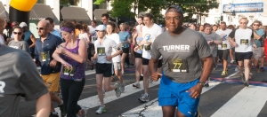 The National Press Club hosts the annual Beat the Deadline 5K race, June 9, 2012.