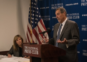 John Thompson, former director of the U.S. Census Bureau, discusses the upcoming 2020 census and why he resigned his position at a July 25 National Press Club Headliners Newsmaker..