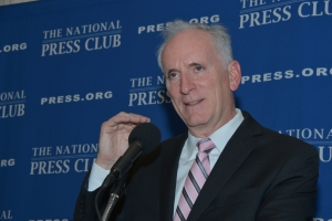 Washington Metro General Manager Paul Wiedefeld told a Nov. 30 National Press Club luncheon audience that the system has upgraded safety and is now focusing on customer service.