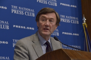 Dr. John H. Noseworthy, president and chief executive officer of the Mayo Clinic addresses National Press Club Luncheon on April 9, 2013