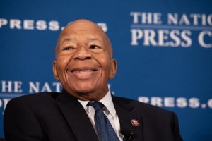Rep. Elijah Cummings, D-Md. and chairman of the House Oversight Committee, spoke at an Aug. 7 National Press Club Headliners luncheon.