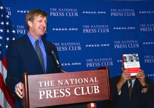 Former Rep. Patrick J. Kennedy, D-Rhode Island, speaks about his new book A Common Struggle at a National Press Club Newsmaker of Nov. 5, 2015.