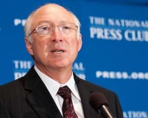 Interior Secretary Ken Salazar