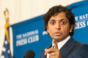 Writer-director M.Night Shyamalan