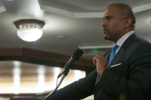 "PBS broadcaster Tavis Smiley addressed Attorney General Eric Holder's time in office during a Sept. 26 National Press Club Book Rap about Smiley's latest work, ""Death of a King: The Real Story of Dr. Martin Luther King, Jr.'s Final Year."""