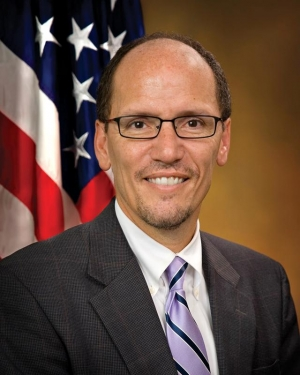 U.S. Labor Secretary Thomas Perez.