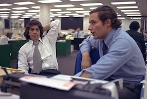 "Bob Woodward and Carl Bernstein will join ""The Kalb Report"" at 8 p.m. Monday, Oct. 20."