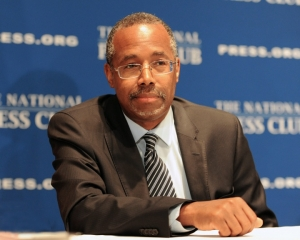 Dr. Ben Carson at Wednesday's Luncheon