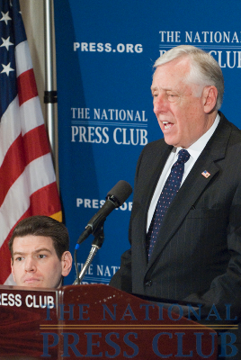 House Majority Leader Steny Hoyer, D-Md., outlines the House agenda for the new legislative session in 2010 at a National Press Club Speakers Newsmakers press conference at 9 a.m. on...