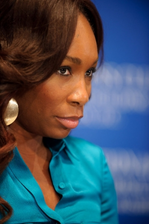 Venus Williams addressed a sold-out crowd at a July 7 NPC luncheon event. She discussed the 2010 Wimbledon tournament, her play with the Washington Kastles and her new book. Photo...