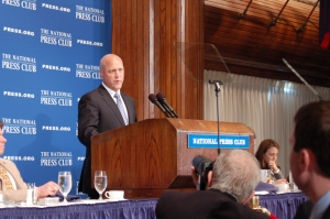 New Orleans May Mitch Landrieu shares challenges, optimism of the city's road to recovery from Hurricane Katrina and the BP oil spill.