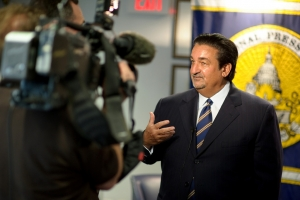 Ted Leonsis, owner of the Washington Capitals speaks at a National Press Club Luncheon, May 21, 2010. Mr. Leonsis described how he used his unique business philosophy to propel America...
