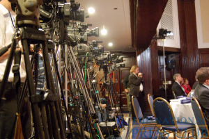 Army of media maneuvers to cover Dick Armey.