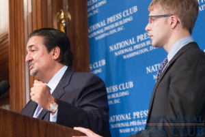 Washington Capitals owner and entrepreneur, Ted Leonsis, speaks at a Press Club Luncheon, May 21, 2010. Mr. Leonsis spoke about his vision for the future of the Capitals and the...