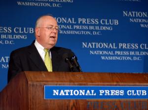John W. Rowe, Chairman and CEO, Exelon Corporation, addresses a NPC Luncheon on May 15.Photo: Greg Tinius/Tinius-Arts