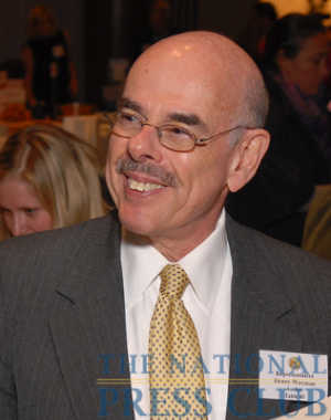 Representative Henry Waxman at the 2009 National Press Club Book Fair & Authors' Night.Photo: Gregory Tinius