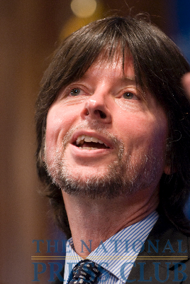Documentary filmmaker Ken Burns speaks at an NPC luncheon on Monday September 28, 2009.Photo: Noel St. John