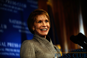 Mary Tyler Moore at a May 28 National Press Club Luncheon event.Photo: Christy Bowe
