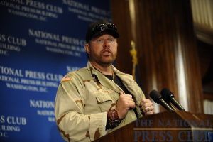Country Western star Toby Keith speaks at an April 21 NPC Luncheon event.Photo: Christy Bowe